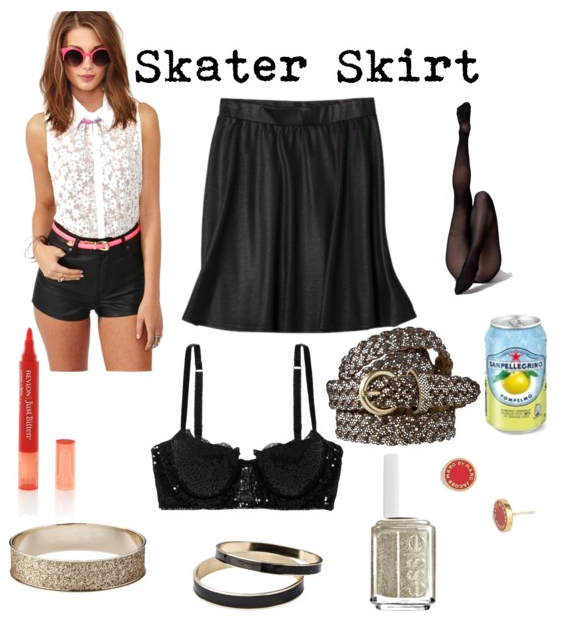 Skater Skirt Holiday Party