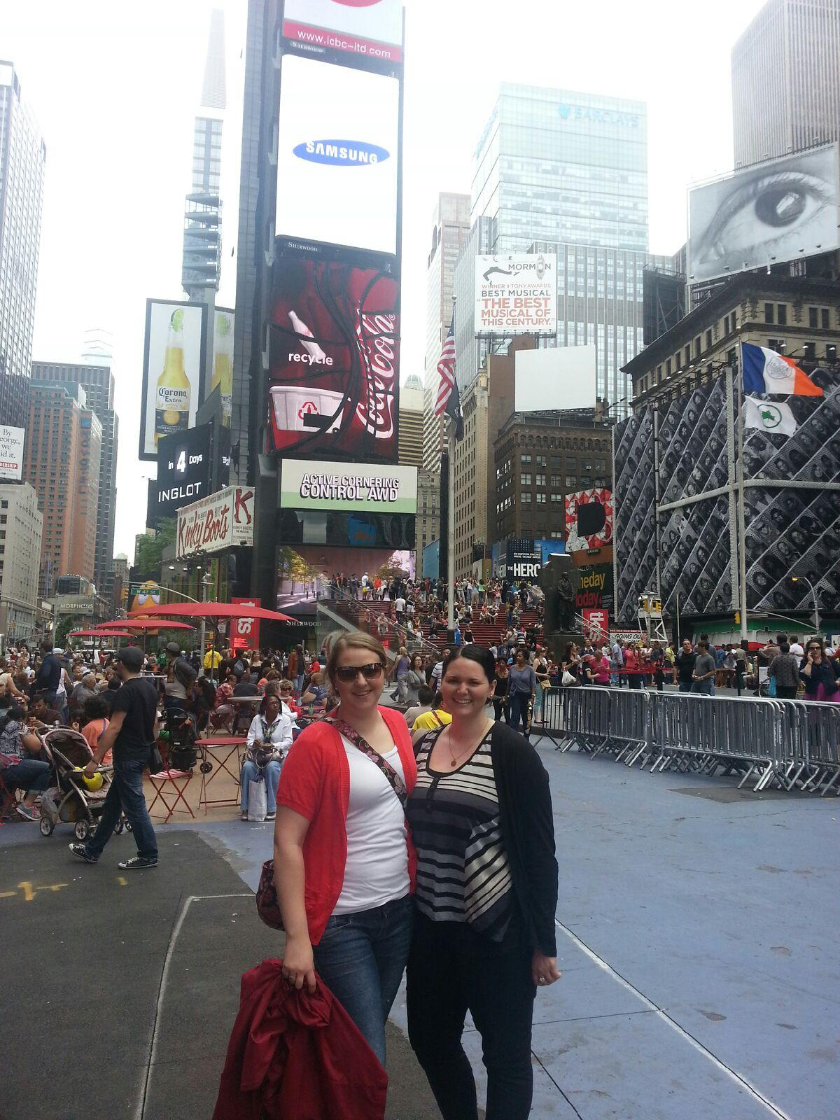 Me & Jordan in Time's Square June 8, 2013jpeg