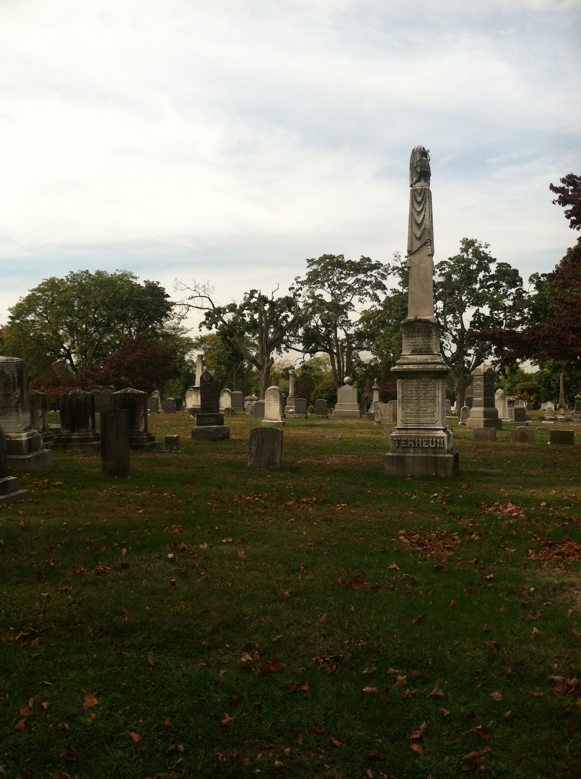 And then we went to a Jersey Cemetery Oct 19, 2013 140