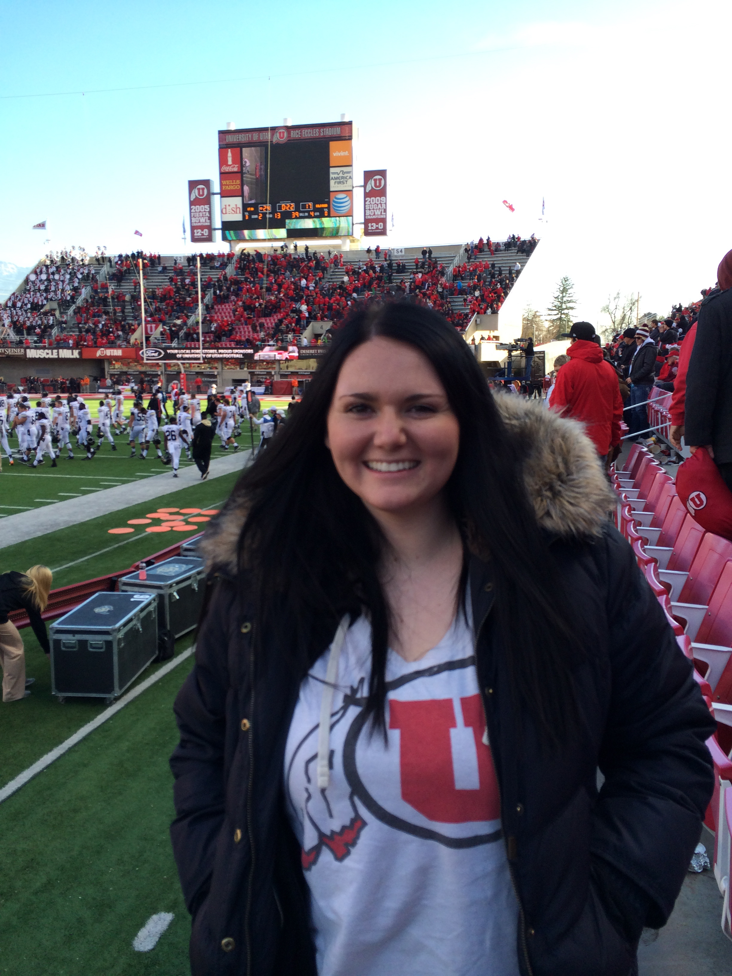 Go Utes! Saturday November 30, 2013 421