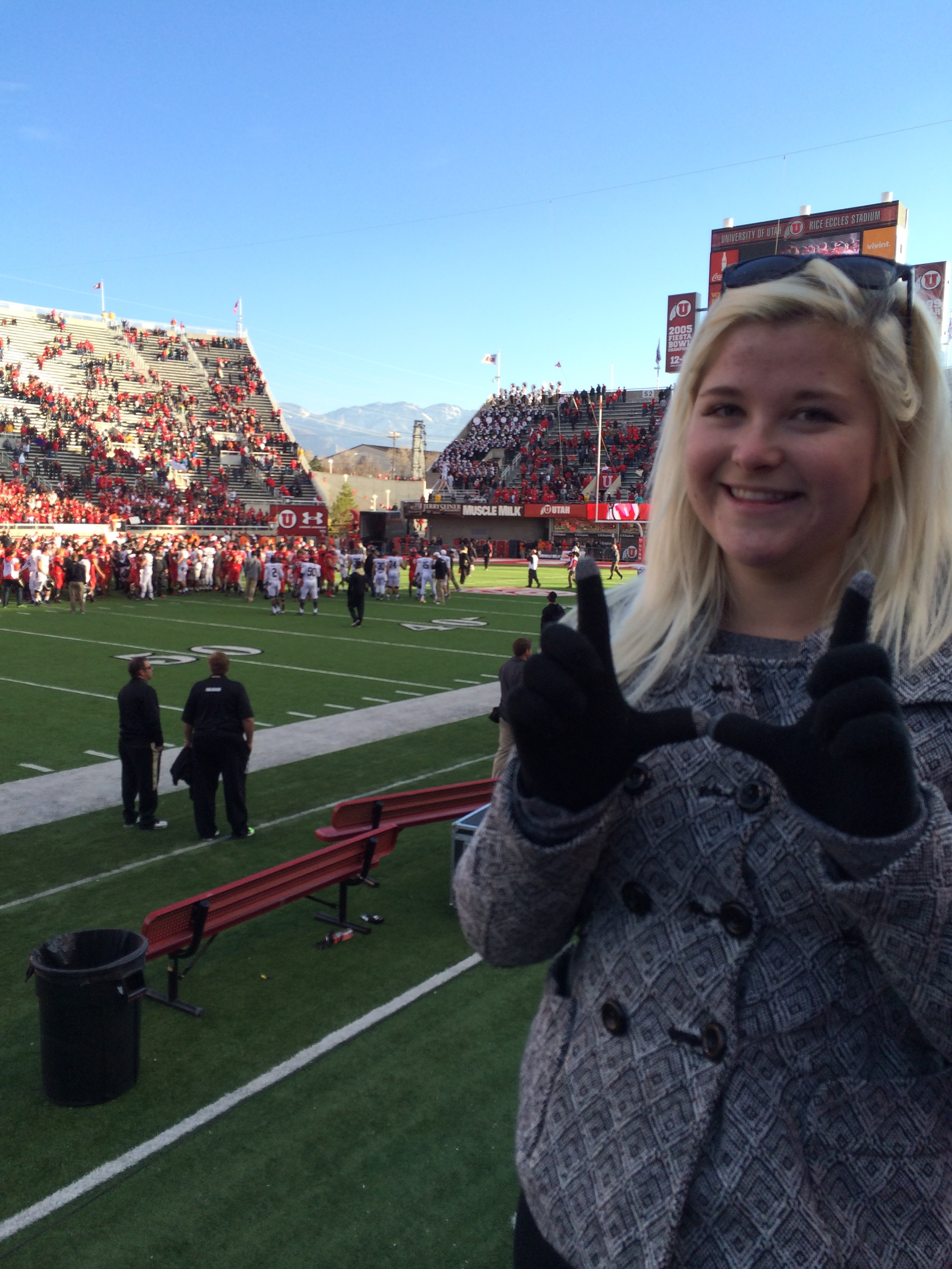 Go Utes! Saturday November 30, 2013 433