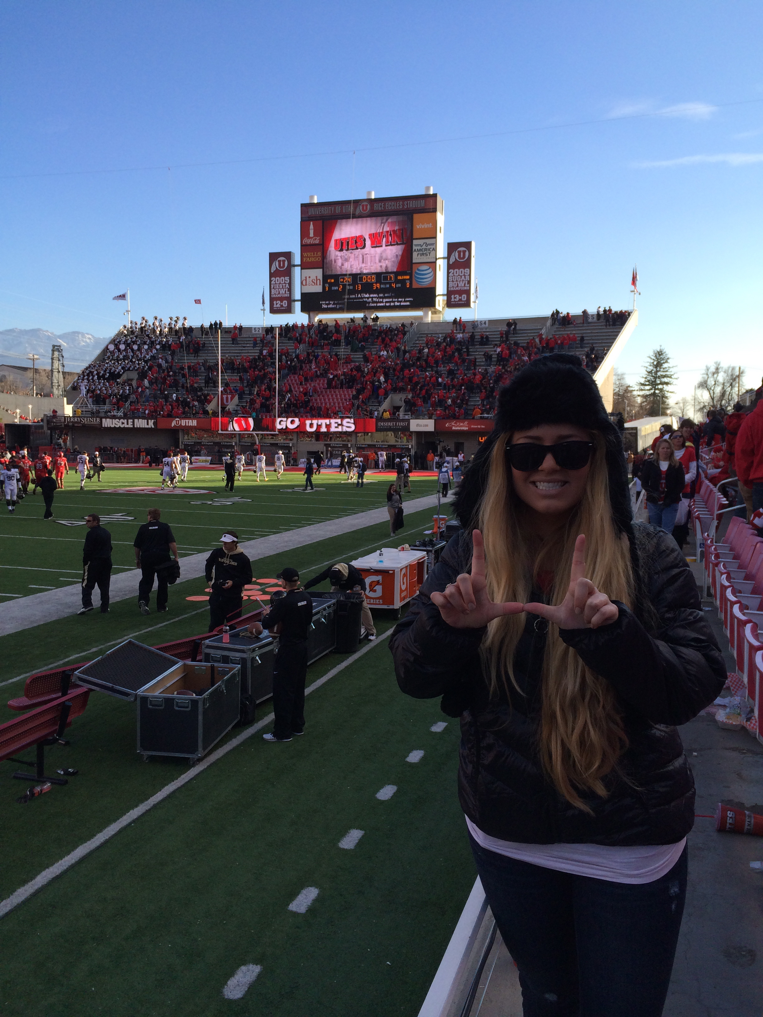 Go Utes! Saturday November 30, 2013 438