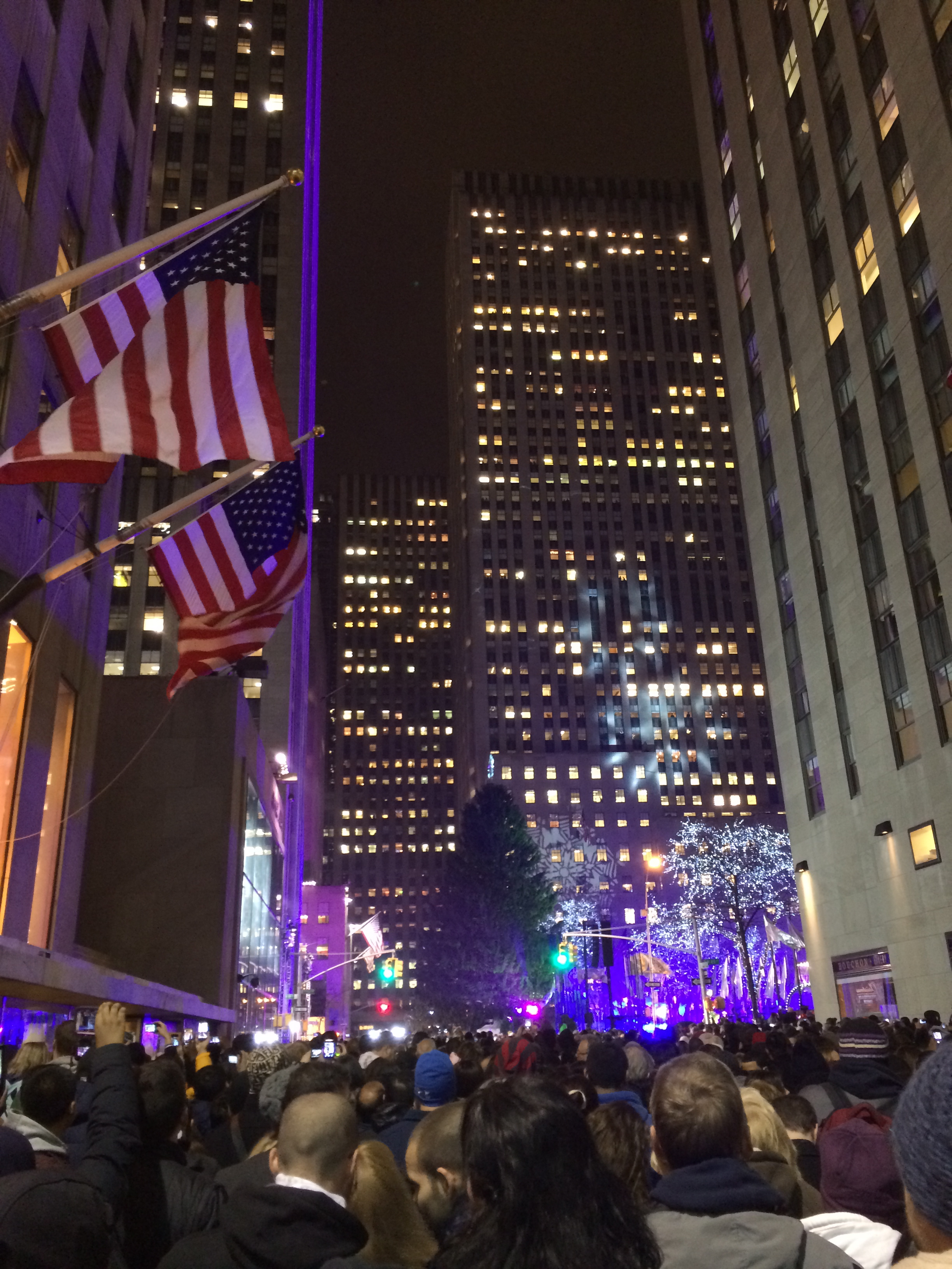 Rockefeller Tree Lighting December 4, 2013 721