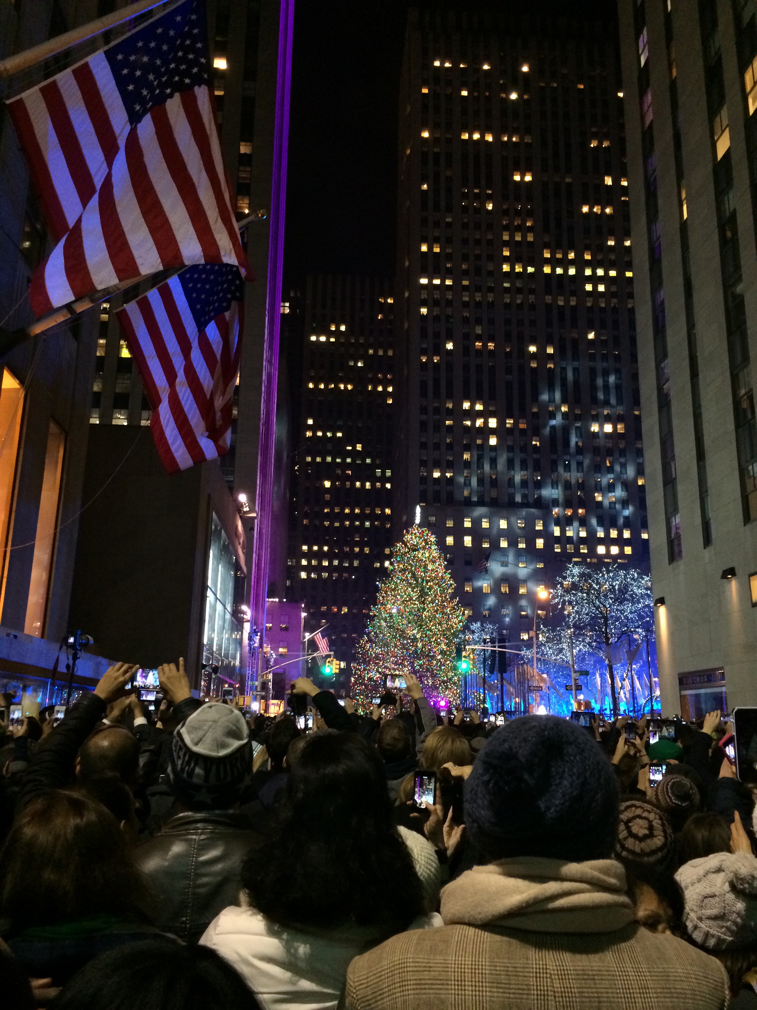 Rockefeller Tree Lighting December 4, 2013 744