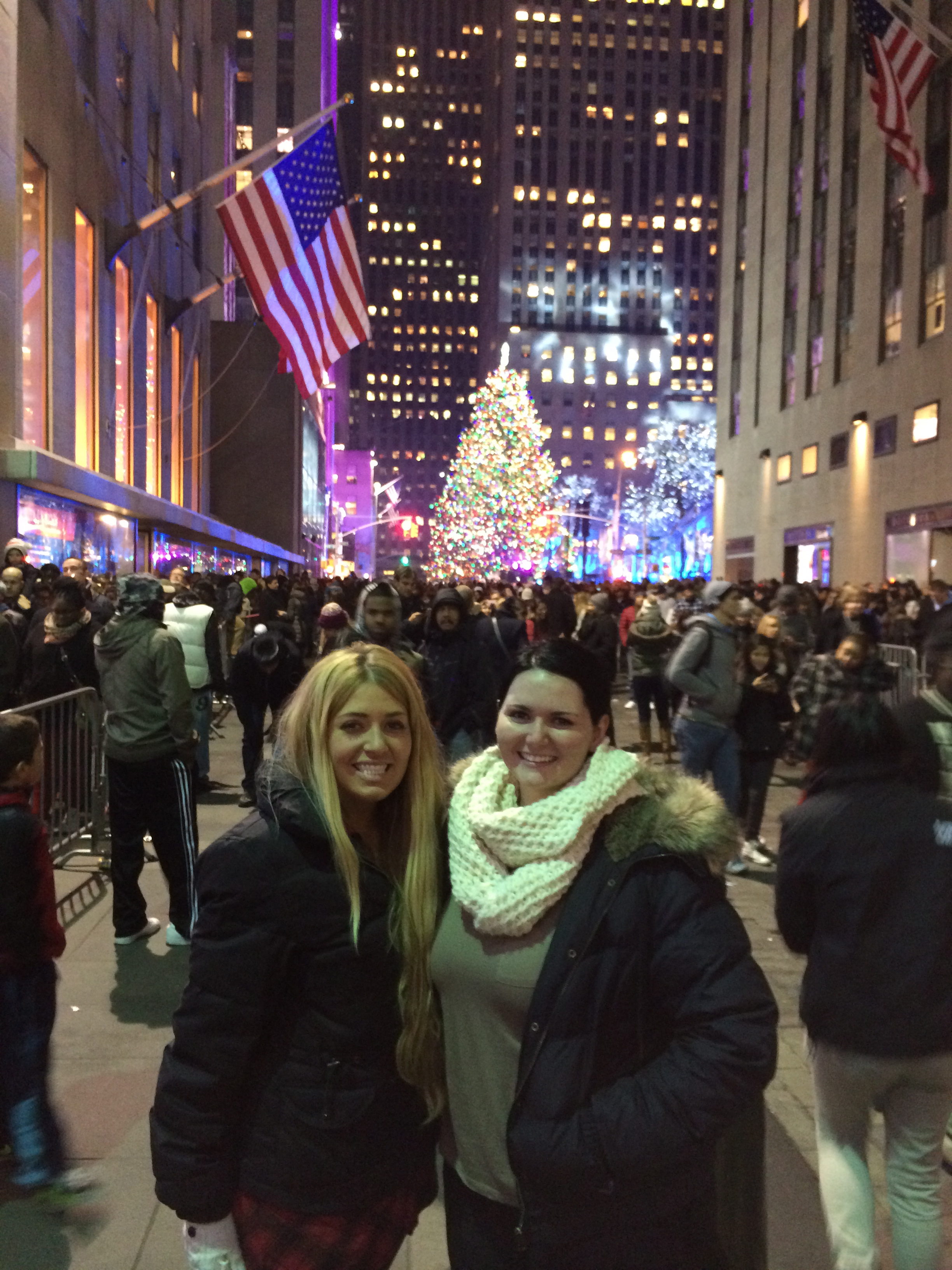 Rockefeller Tree Lighting December 4, 2013 780
