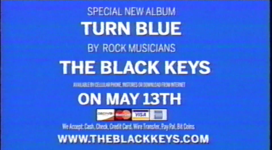turn blue the black keys