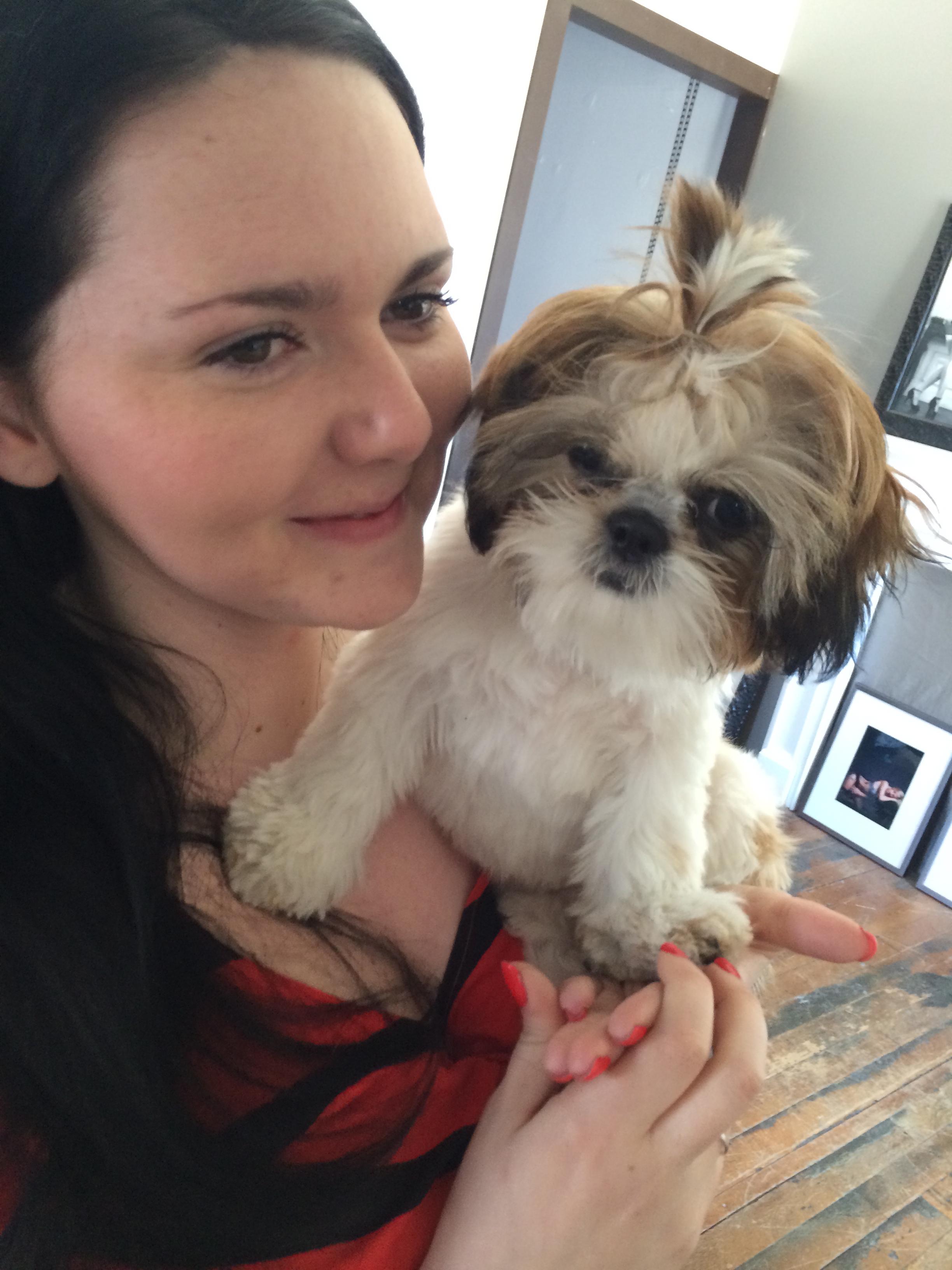Puppy love. Molly Loo Hoo 2014 4933