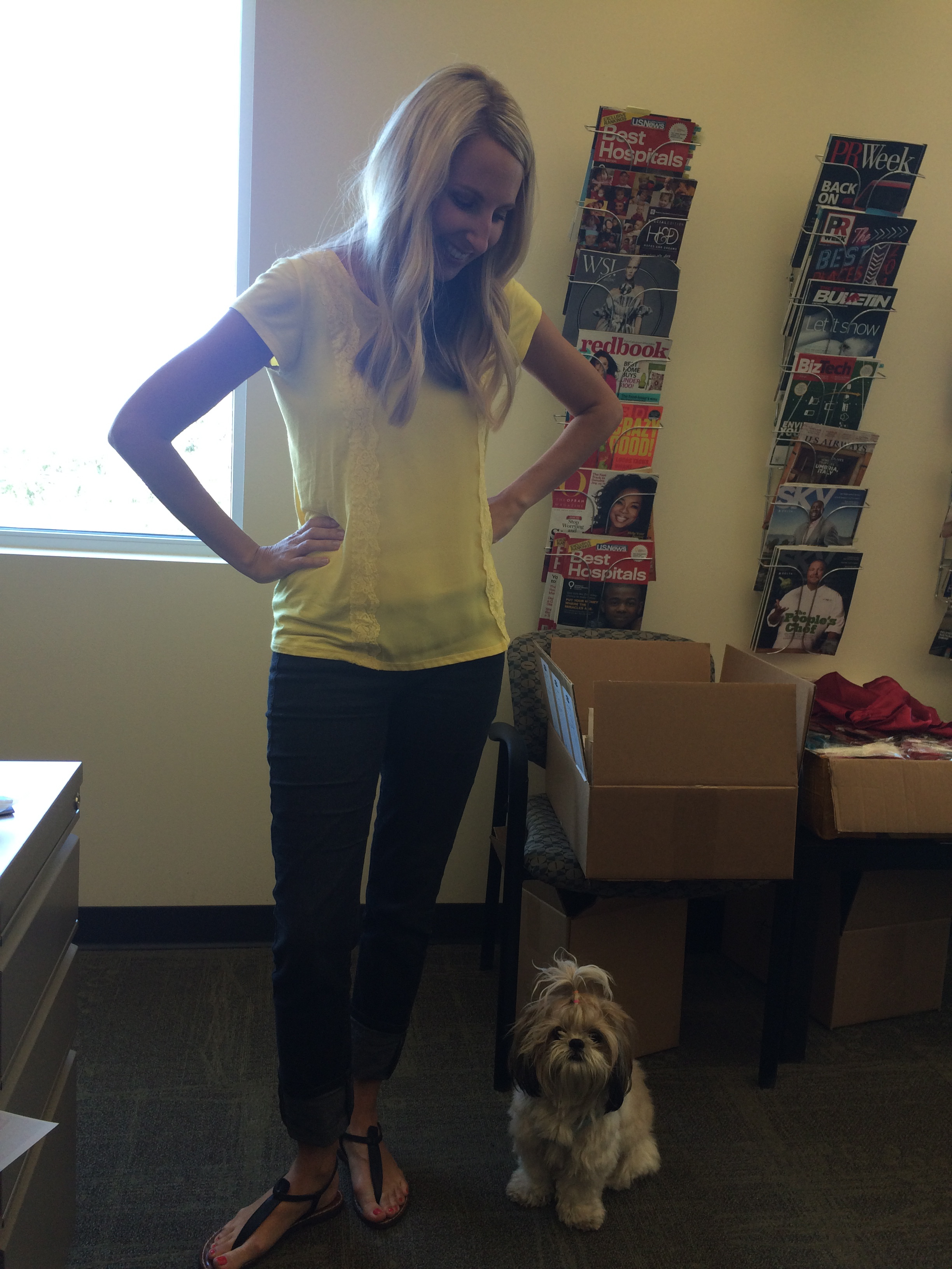 Bring your dog to work day! August 27, 2015442