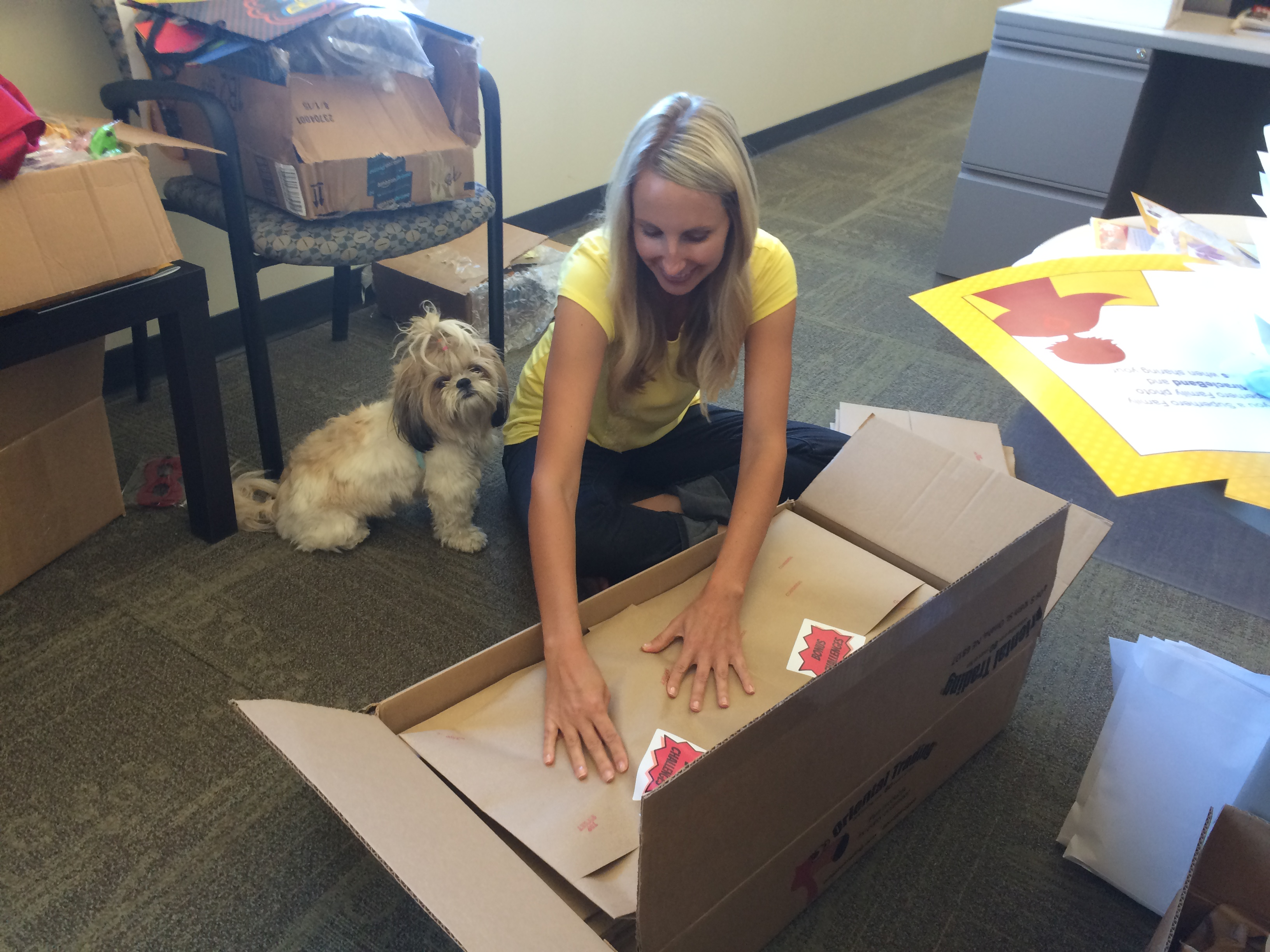 Bring your dog to work day! August 27, 2015471