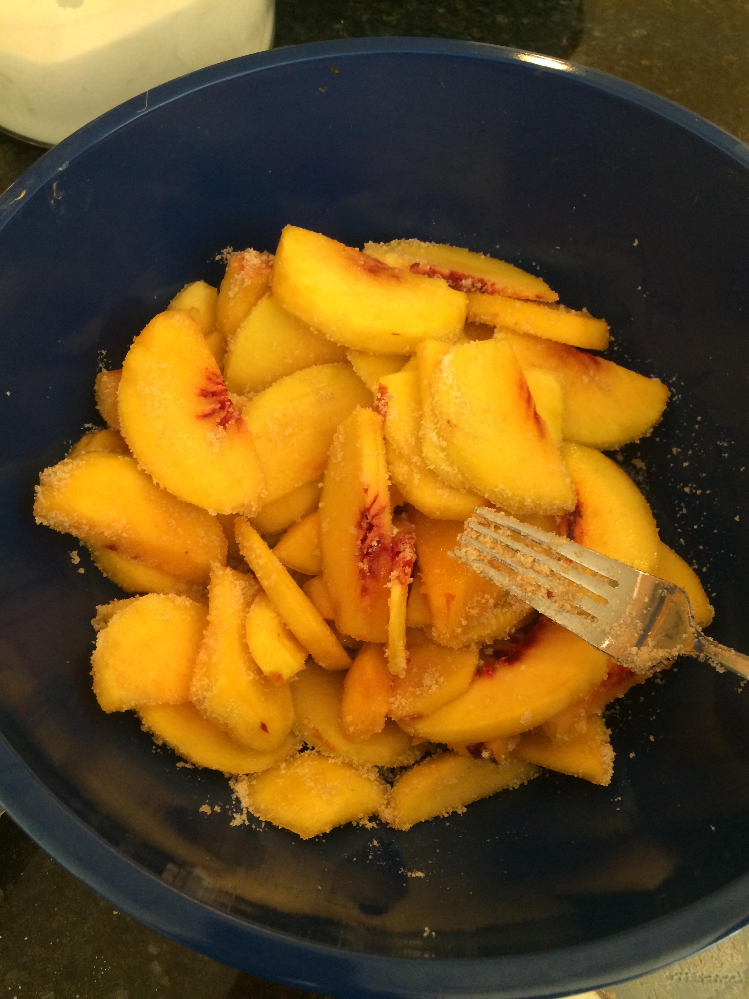 I made a peach pie! September 13, 2015 14
