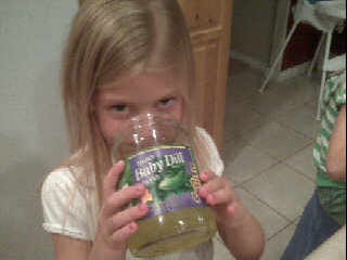 pickle juice babby