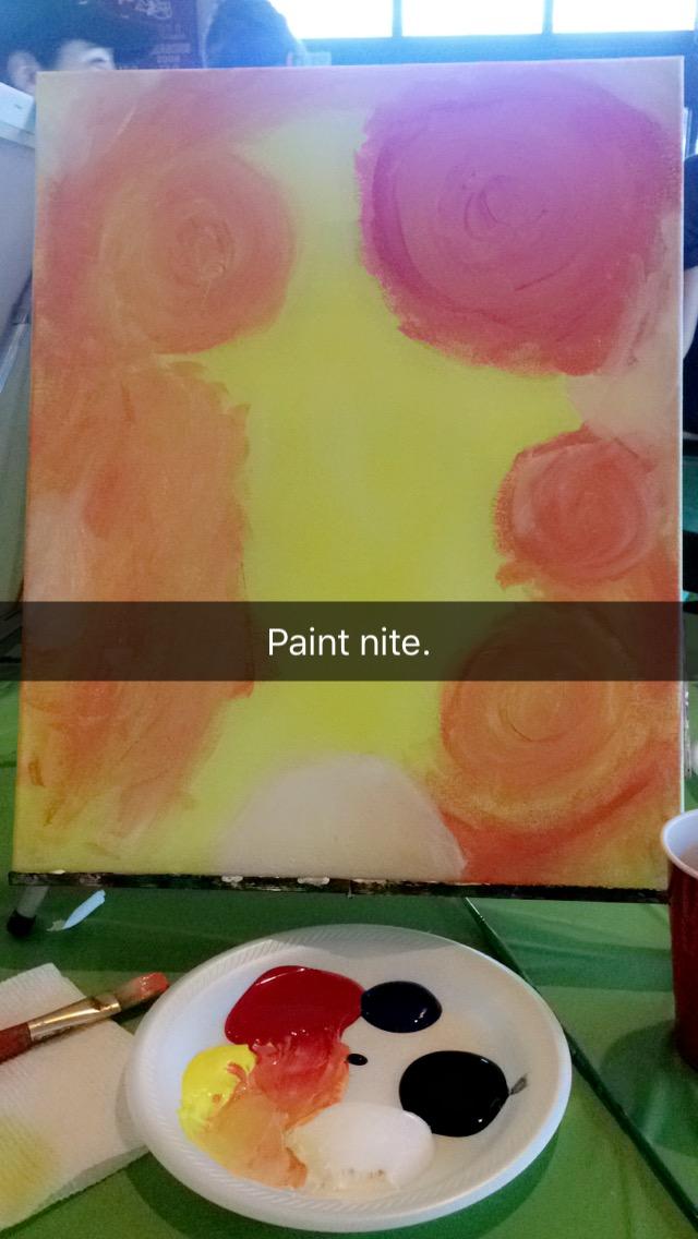 Paint nite.. June 17, 2016 550