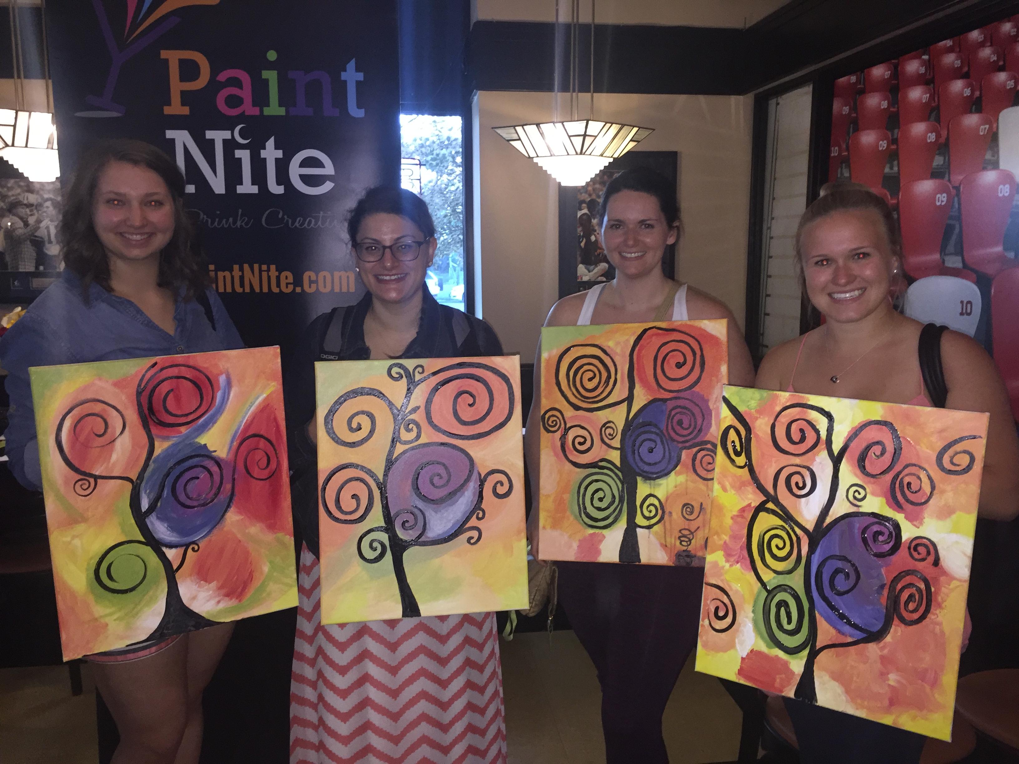 Paint nite.. June 17, 2016 558
