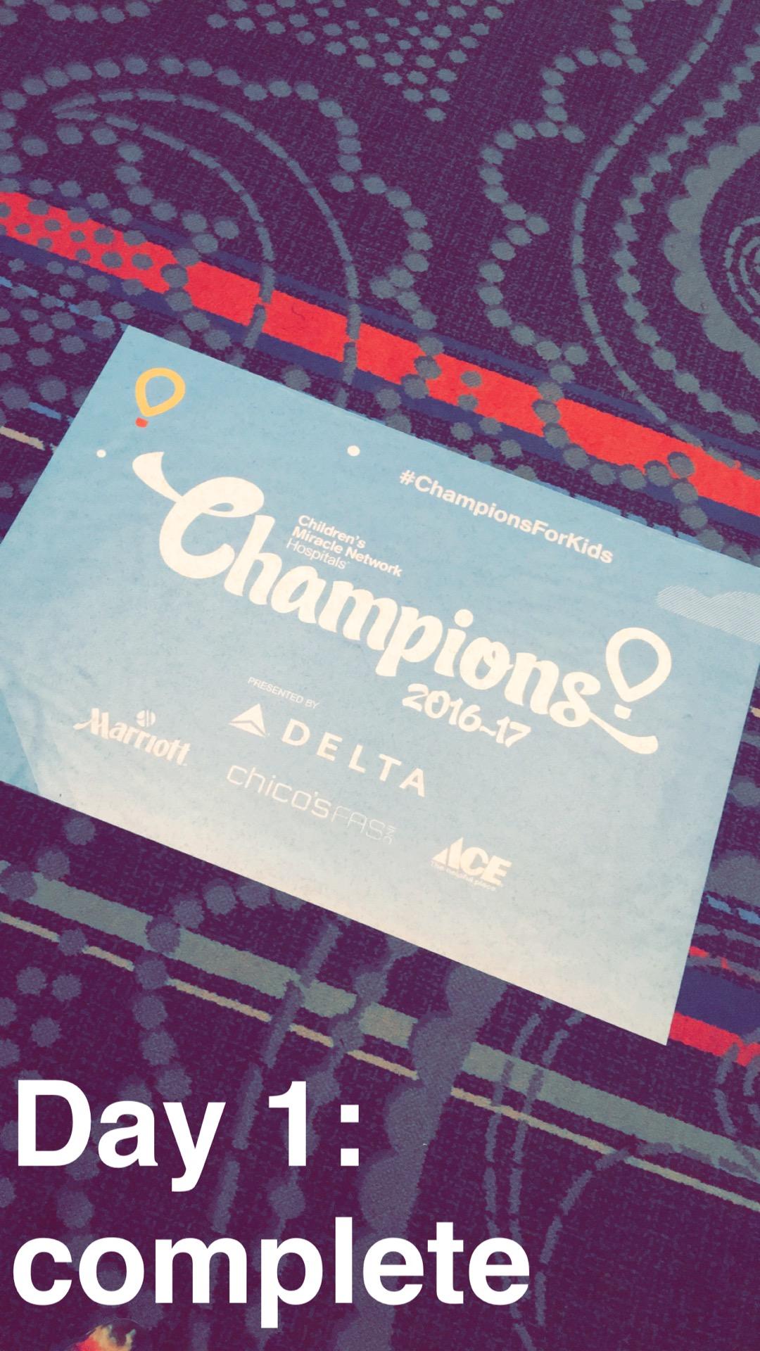 Champions day 1, June 25, 2016 0520